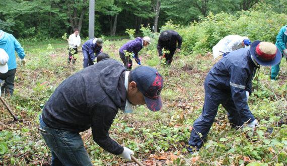 地域環境保全の取り組み